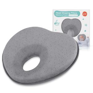 Image 1 - 3D Memory Foam Baby Pillows Breathable Baby Shaping Pillows To Prevent Flat Head Ergonomic Newborns Pillow Almofada Infantil