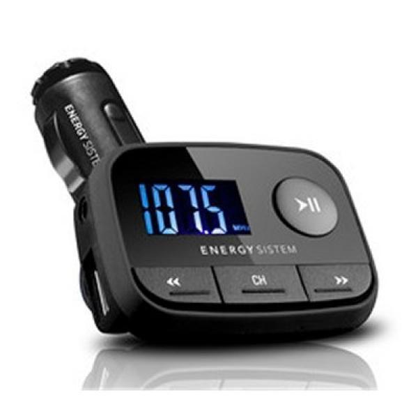 Car MP3 Player Energy Sistem 384600 FM LCD SD / SD-HC (32 GB) USB Black