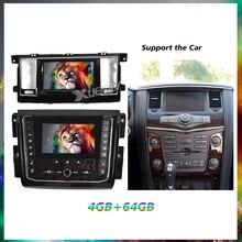 2014-2020 Автомобильный GPS Авторадио для nissan патруль Двойной HD экран DVD-плеер для Nissan автомобильный android автомобильный радиоплеер