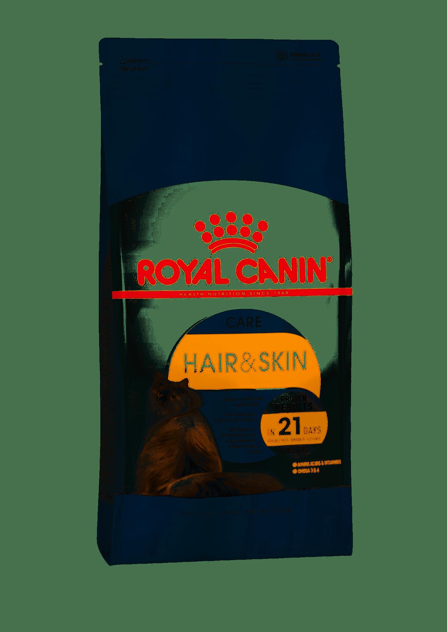 Royal Canin Hair & Skin Care для поддержания здоровья и шерсти кошек, Cat Food, For Cats, 2 кг