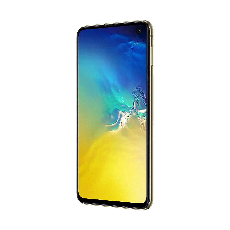 Samsung Galaxy S10e, Color Yellow (Canary Yellow), LTE/WiFi, Dual SIM, Internal 128 GB De Memoria, Screen 5.8