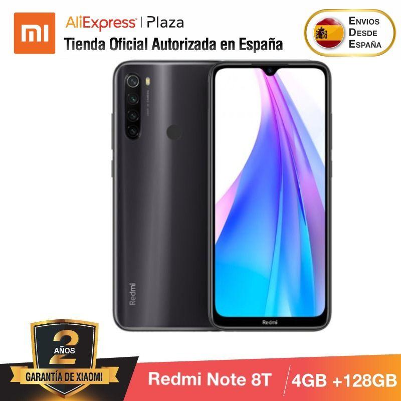 Note 8T (128GB ROM 4GB RAM, 13MP Frontal Cámara, Batería De 4000 MAh, Android, Nuevo, Libre) [Teléfono Movil Versión Global]
