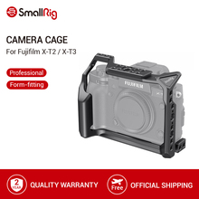 Fujifilm X T3 카메라 케이지 안정제 조작 보호 케이스 커버 2228 용 SmallRig X T3 알루미늄 합금 카메라 비디오 케이지