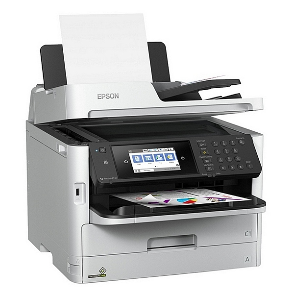 Multifunction Printer Epson WorkForce PRO WF-C5790DWF 34 Ipm WIFI LAN Fax White