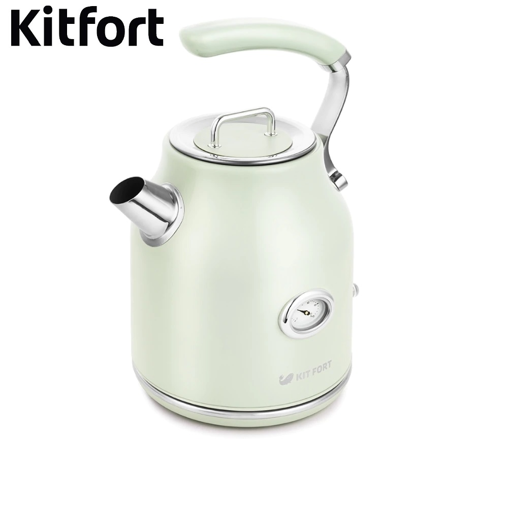 Electric Kettle Kitfort KT-663 Kettle Electric Electric kettles home kitchen appliances kettle make tea Thermo цена и фото