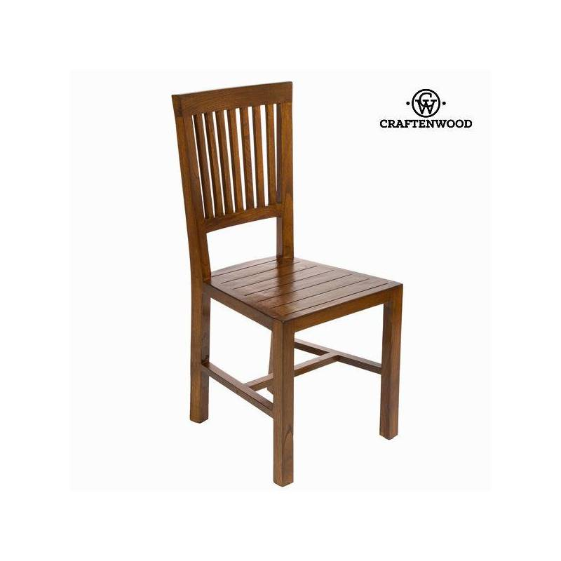Dining Chair Wood Mindi (45x44x95 Cm)-The Collection Chocolate Craftenwood