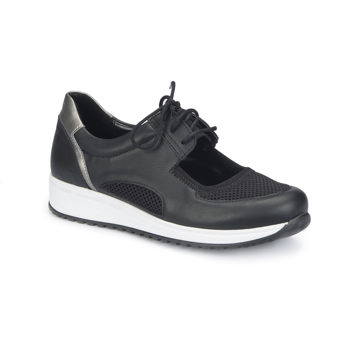 FLO 81.311400.Z Black Women 'S Sports Shoes Polaris