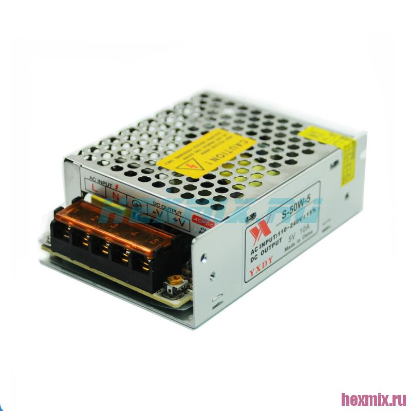 Switching Power Supply S-50W-5 5V 10A 50W