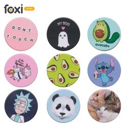 Curly children's popsockets. Beautiful convenient phone holder. Foldable phone holder