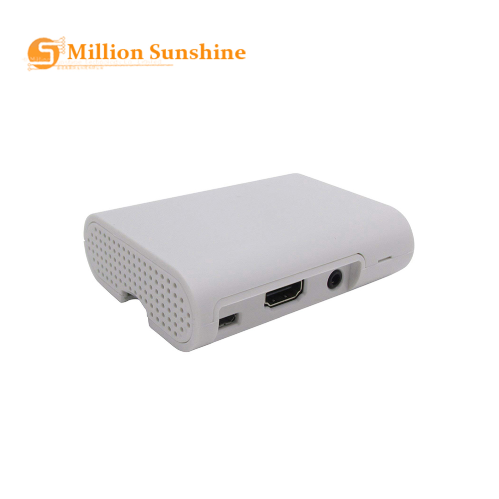 w// Screws Cover Shell ABS Plastic Case Enclosure Raspberry Pi 2 Model B /& Pi B