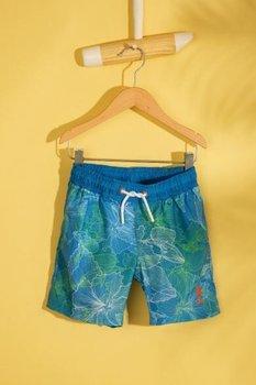 U S POLO ASSN Niebieski regularne strój kąpielowy tanie i dobre opinie Dzieci Szorty