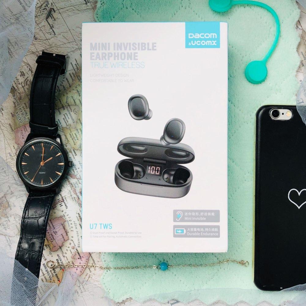 DACOM U7 TWS Bluetooth Earbuds 5.0 True Wireless Stereo Earphones HiFi Mini TWS Earpieces Bluetooth Earphones for iPhone Samsung|Bluetooth Earphones & Headphones| |  - AliExpress