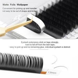 Image 5 - NAGARAKU wimpern make up Flache Ellipse Split Tipps Ellipse Form Natürliche Licht Faux Ellipse Wimpern Dark Schwarz wimpern matte