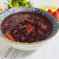 红枣黑米粥的做法图解10