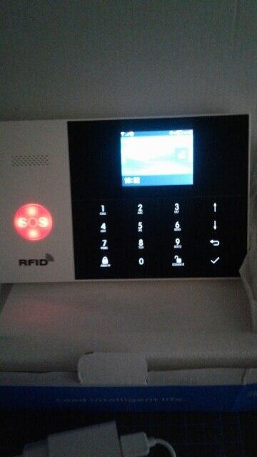 -- Teclado Sistema Alarme