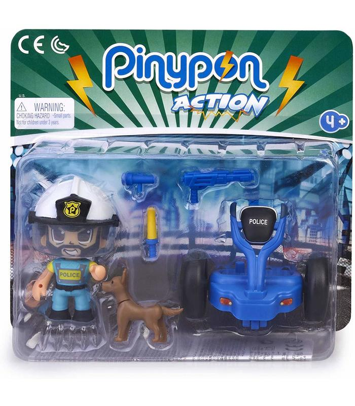 Pinypon Action. Police With Segway Toy Store