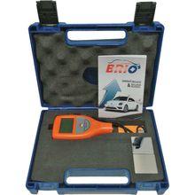 Brio цифровая автомобильная краска толщиномер автомобильный тестер толщины покрытия метр для металлических и алюминиевых поверхностей в эксклюзивном синем цвете