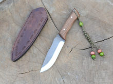 Bushcraft bıçak, keskin , paslanmaz çelik bıçak,tek parça bıçak,yüksek kaliteli, doğa bıçak, garantili, HGYVR