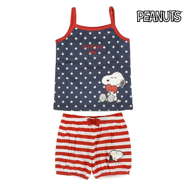 Summer Pyjama Snoopy 74587 Children's (2 Pcs)