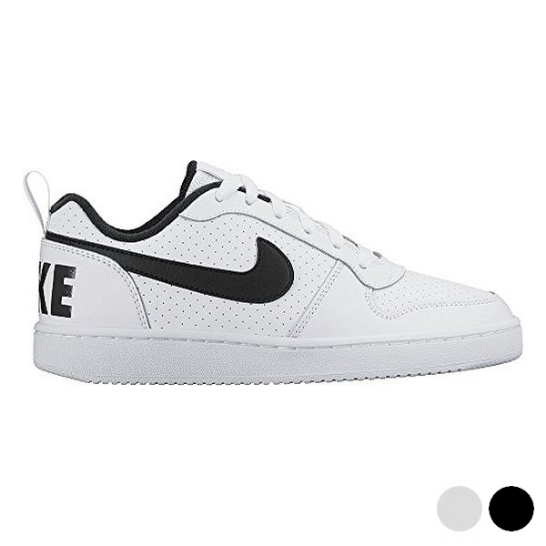 Sports Shoes for Kids Nike COURT BOROUGH LOW (GS) White Black (Usa size) image