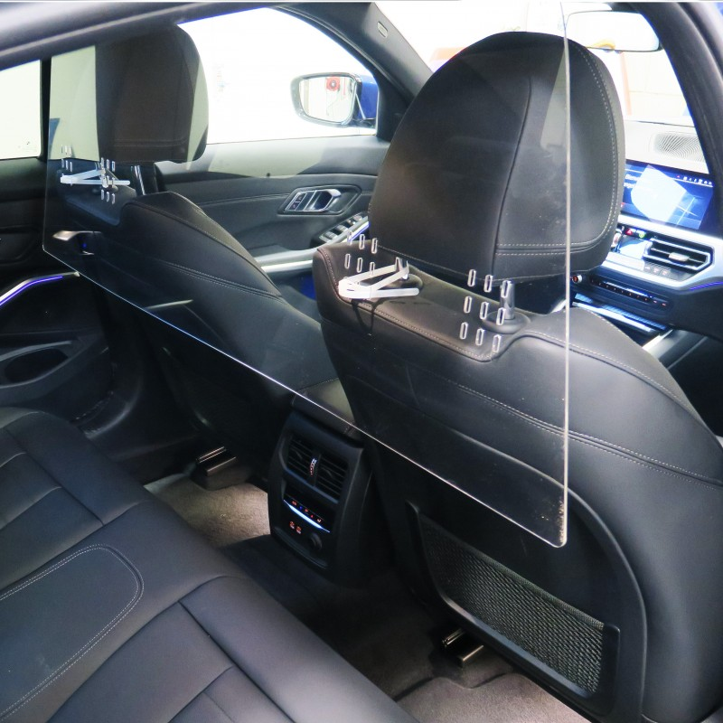 Screen Methacrylate Transparent Car And Universal. Protection For All Vehicles, Cabs, Uber 48-72 Hours