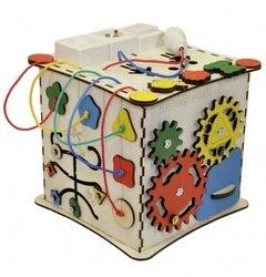 Bizyboard cube se développant avec un électricien (unité d'indication lumineuse)