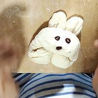 """小朋友都能上手的""""胖""""兔馒头的做法图解5"""