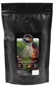 Свежеобжаренный coffee Peru in beans, 200g