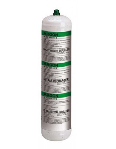 802050 GAS CYLINDER ARGON-1l. -NON-RECOVERABLE