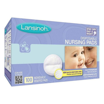 Lansinoh Breast Breast Pad 100 Pieces-New Package