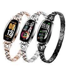 H8 Smart Watch Women Heart rate module Waterproof Bluetooth Monitoring Fitness Tracker New Bracelet