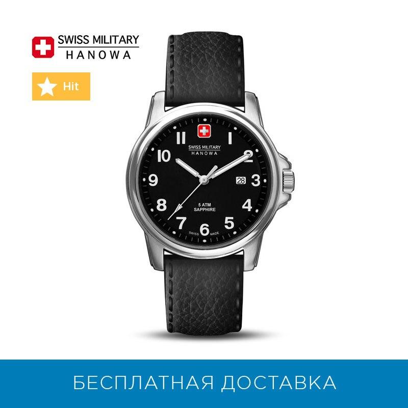 Montres à Quartz suisse militaire Hanowa pour hommes 06-4231-04-007 montres hommes montre-bracelet montre-bracelet