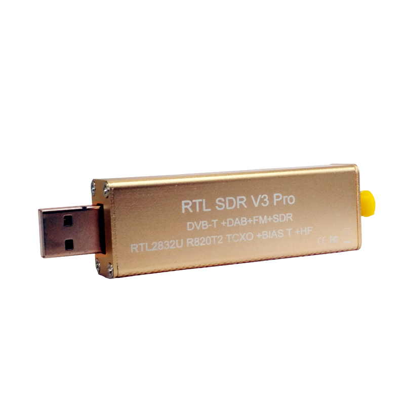 Melhor V3 Pro RTL2832U R820T2 0.5PPM TXCO RTL SDR HF Viés SMA Software Defined Radio banda Completa para o Windows 10, mac. Android, Linux