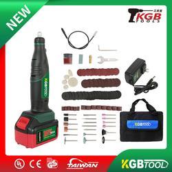 KGB Mini szlifierka o zmiennej prędkości  elektryczne narzędzie do wiercenia polerowania  zestaw narzędzi obrotowych elektryczny Mini grawer z szlifierką ołówkową w Elektryczne trymery od Narzędzia na
