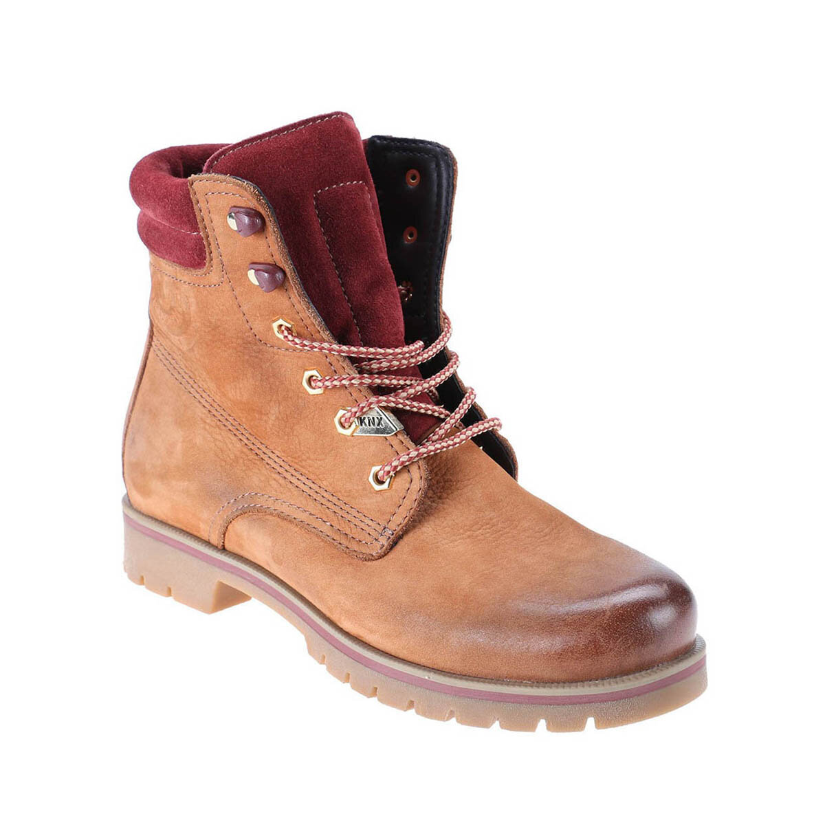 FLO 1252202 Tan Men Boots KINETIX