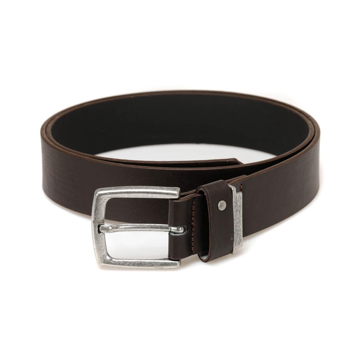 FLO Brown Men's Belt Leather Belt Oxide Belts For Men MKNYL3404