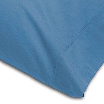 Funda Almohada Abece Azul 22 Lisa