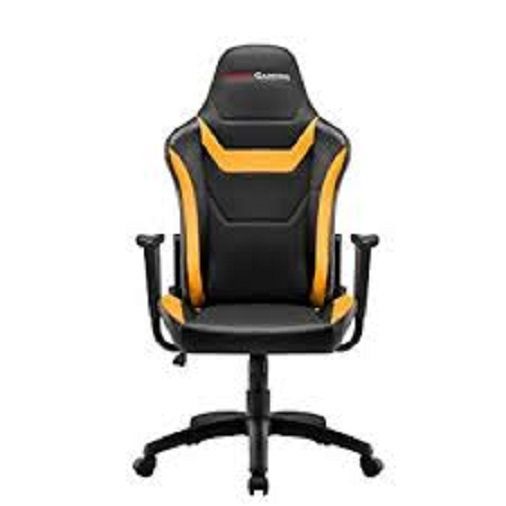 Chair Gamer Mars Gaming Mgc218by Color Black Details In Yellow AND Carbono Recliner Double Layer Padding Leather No
