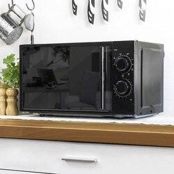 Cecomix wszystko czarne 1368 kuchenka mikrofalowa z grillem 20 L 700W czarny