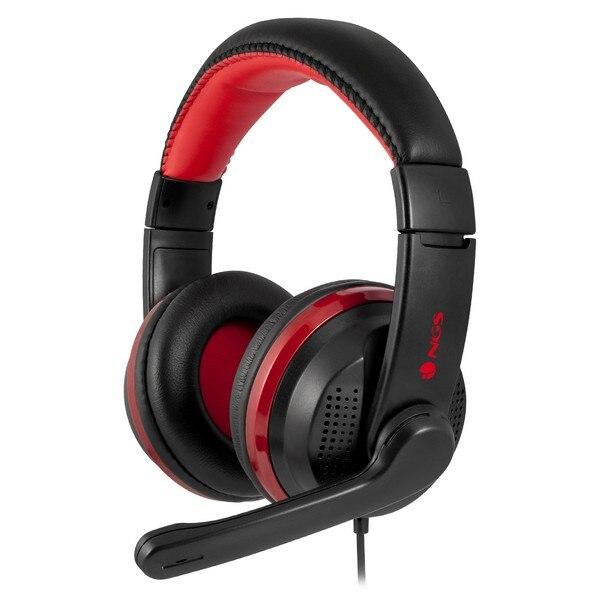 Tüketici Elektroniği'ten Kulaklıklar-Telefon ve Radyo Kulaklıkları'de Oyun kulaklığı mikrofon ile NGS VOX700 USB Ø 4 cm title=