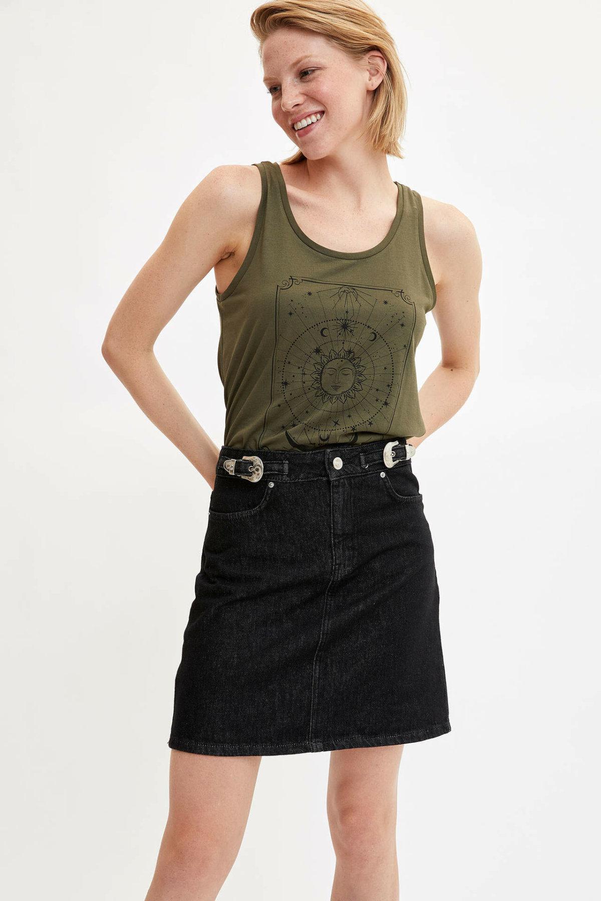 DeFacto Woman Skirt-L5220AZ19HS
