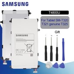 "SAMSUNG 원래 태블릿 배터리 T4800U T4800E 4800mAh 삼성 갤럭시 탭 프로 8.4 ""T320 SM-T321 T325 T321 교체 배터리"