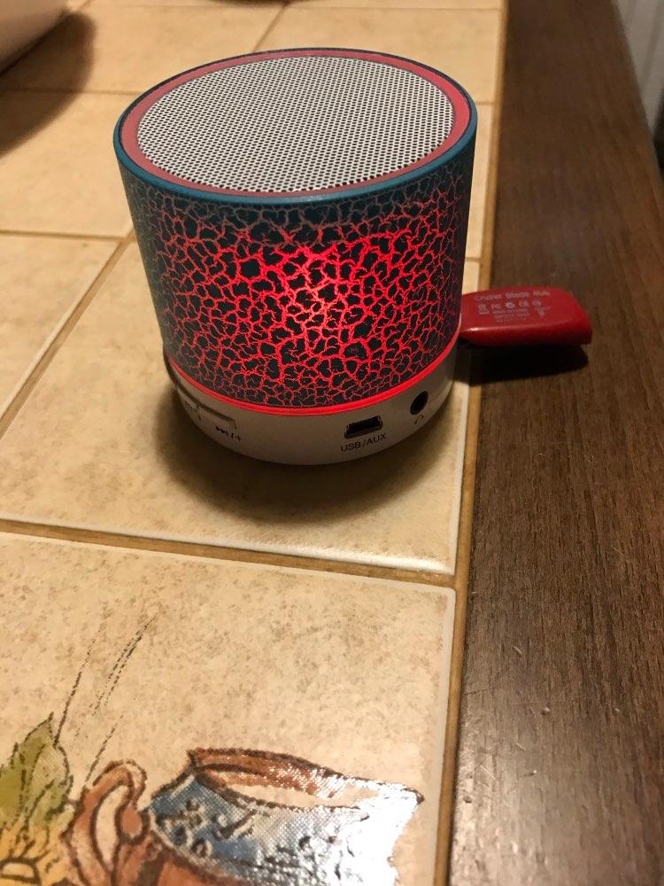 GETIHU Wireless Portable Bluetooth Speaker Mini LED Music Audio TF USB FM Stereo Sound Speaker For Xiaomi Phone Computer column|Portable Speakers|   - AliExpress
