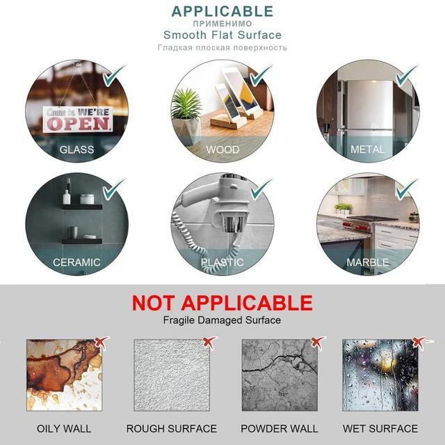 Nano Magic Double Tape Transparent Sided Tape NoTrace Reusable Waterproof Adhesive Strong Wall stickers For Bathroom kitchen 6