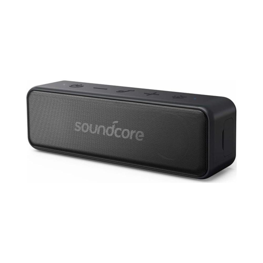 Anker-altavoz SoundCore Motion B, Bluetooth, sonido estéreo de 12W, resistencia al agua IPX7, hasta 12 horas de carga, color negro, A3109