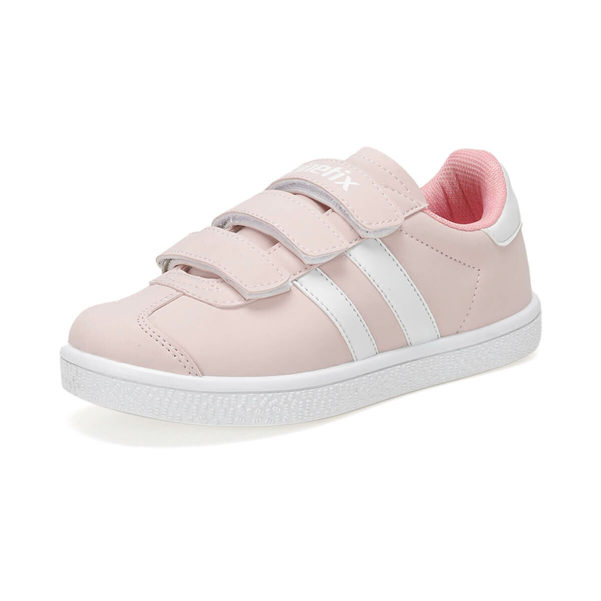 FLO GIZANI PU 9PR Light Pink Female Child Sneaker Shoes KINETIX