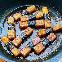 外脆里嫩的照烧豆腐比肉好吃的做法图解5