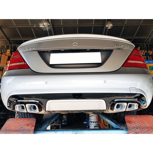 Exhaust Tails AMG E63 Look