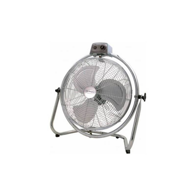 Floor Fan Obergozo PWO1946 130W Stainless Steel
