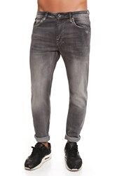 CR7 Jeans voor mannen Kleur indigo Grey Casual Jeans Casual Slim Dunne Rechte Zakken CRD005A